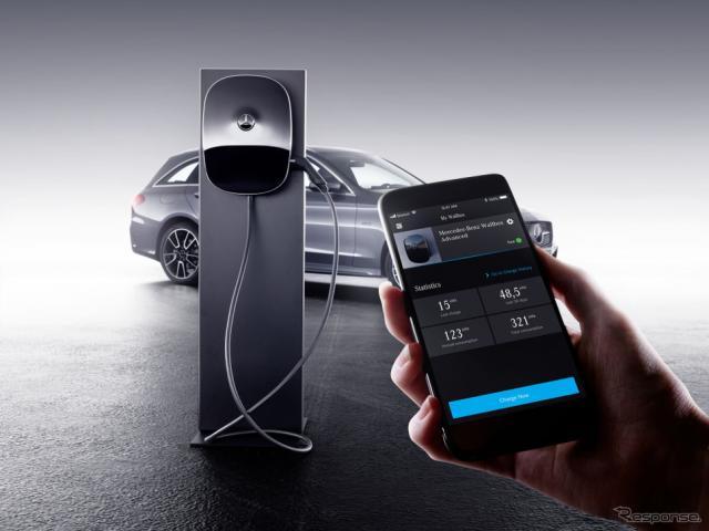 メルセデスベンツの新世代の家庭用充電システム「ウォールボックス」