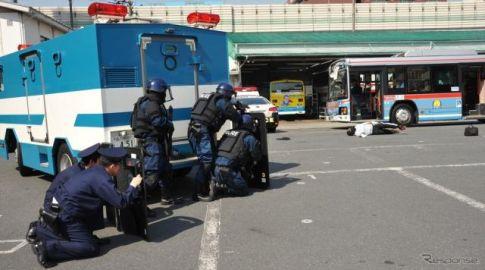 ソフトターゲット・テロ訓練、羽田京急路線バスで…警視庁蒲田署
