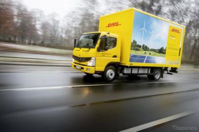 三菱ふそう、量産EV小型トラック eキャンター を英国へ初投入