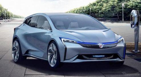 GM、電動車のラインナップ強化…新型EVとPHVを北京モーターショー2018で発表へ