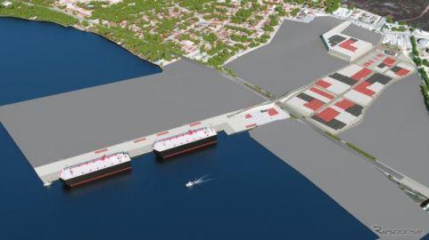 日本郵船、トルコで完成車輸送事業に参入 大型ターミナルを新設