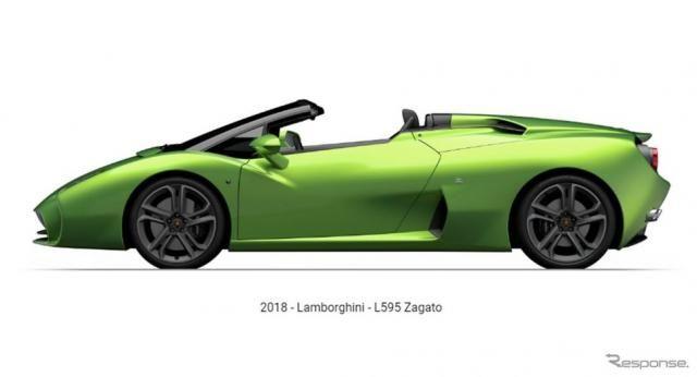 ザガートのランボルギーニ L595、今度はロードスター設定へ…再び ガヤルド ベースで