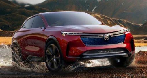 GMが557hpの高性能電動SUV発表へ、0-100km/h加速4秒以内…北京モーターショー2018