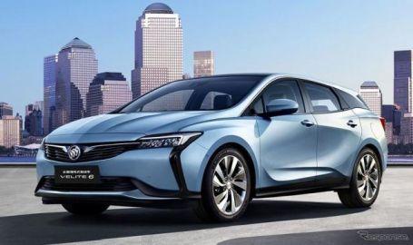 GMが新型EVとPHVを発表、PHVの燃費は71.4km/リットル…北京モーターショー2018