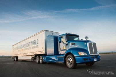 トヨタとシェル、大型水素ステーション建設で協力…燃料電池トラック普及へ