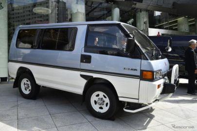 三菱 デリカ 50周年…3代目でキャブオーバーワゴン4WD車のリーダーに[写真蔵]