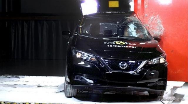 日産 リーフ 新型のユーロNCAP衝突テスト