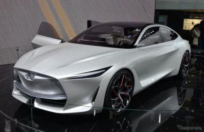 インフィニティ Qインスピレーションコンセプト、市販EVのベースに…北京モーターショー2018[詳細画像]