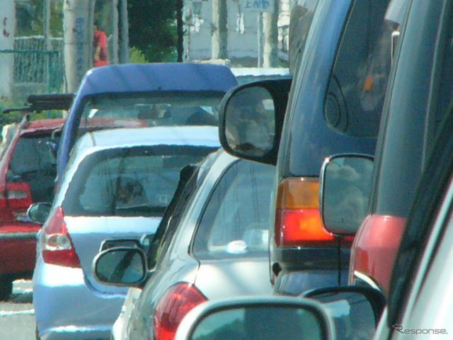 ゴールデンウィークの渋滞は、全国的に5月4日から5日にかけてがピークと見られ、高速道路各社は事故などへの注意を呼びかけている(画像はイメージ)