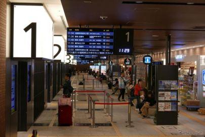 日本最大規模、西鉄天神高速バスターミナルを見る…ITSフォーラム2018福岡