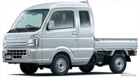 スズキ スーパーキャリイ 発売…ロングキャビンの新型軽トラ、安全装備も充実