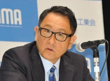 「ギアが変わった」自工会 豊田会長が、東京オリンピック・パラリンピックで自動運転を目指す理由