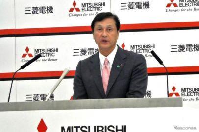 三菱電機の杉山社長「強い事業をより強く」---売上高5兆円、営業利益率8%以上目標[新聞ウォッチ]