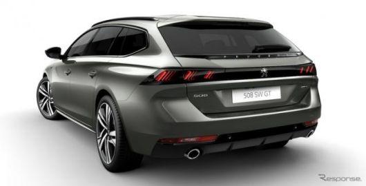 プジョー 508 新型にワゴン、「SW」を発表…8年ぶりにモデルチェンジ