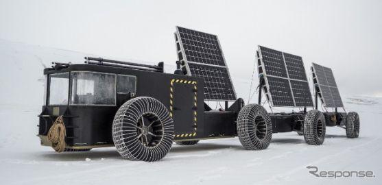 ソーラーカーで南極点をめざす 帝人がプロジェクト支援、軽量・高強度素材を提供