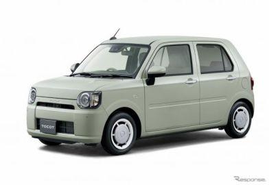 ダイハツ ミラ トコット 発表、エントリーユーザー向けの新型軽乗用車 107万4600円より