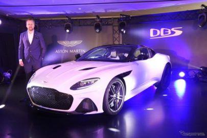 アストンマーティン、DBSスーパーレッジェーラ 日本初公開「究極のスーパーGT」