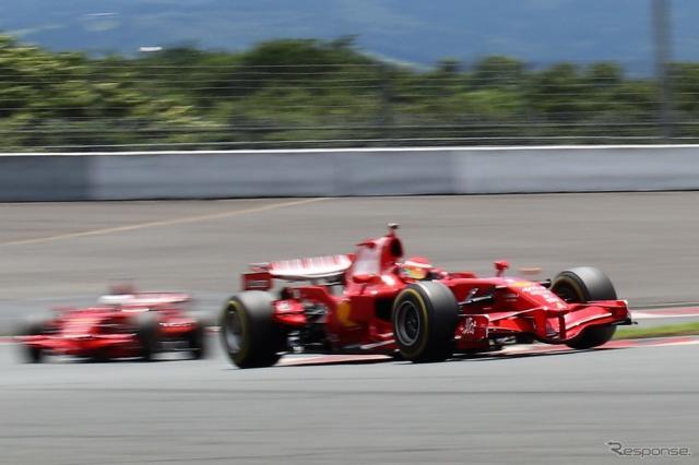 フェラーリレーシングデイズ富士2018 F1クリエンティ《撮影  内田俊一》