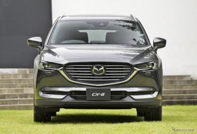 マツダ CX-8、初の海外展開へ…中国市場に2018年下半期の投入決定