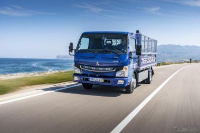 三菱ふそうトラックバス、EVトラック『eCanter』の導入市場を拡大