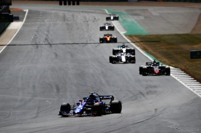 ガスリー(トロロッソ・ホンダ、F1イギリスGP)