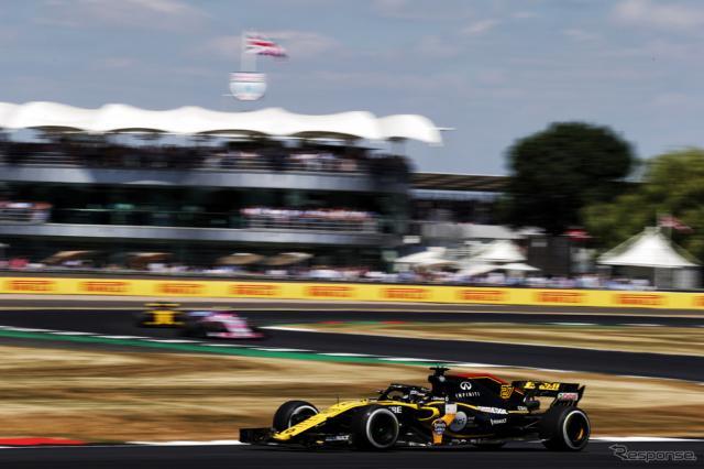 ヒュルケンベルグ(ルノー、F1イギリスGP)