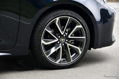 トヨタ カローラスポーツ、ダンロップ SPスポーツMAXX 050 と エナセーブEC300+ を新車装着