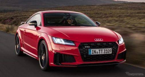 アウディ TT 改良新型を発表、TTS は306hpに強化