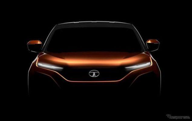 タタの新型SUV、車名は「ハリアー」に…車台はジャガー・ランドローバーと共同開発