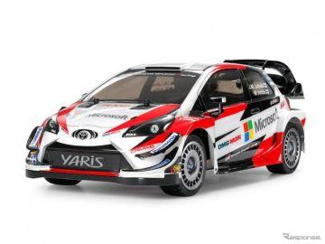 トヨタ ヤリス WRC、1/10電動RCカーでタミヤから登場