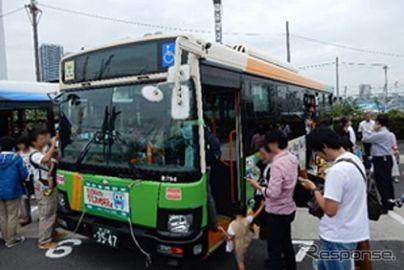 都内各バスが晴海埠頭に集合、9月16日「バスの日」記念イベント