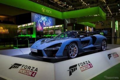 マクラーレン セナ、マイクロソフトのレースゲーム『Forza Horizon 4』に起用…10月発売へ