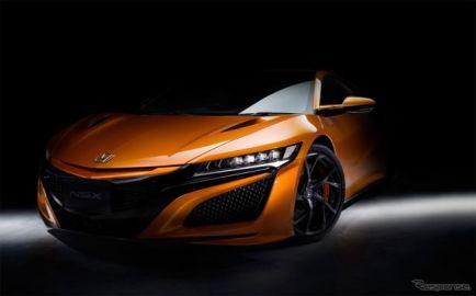 ホンダ、NSX 改良モデルをホームページで先行公開 佐藤琢磨のテストドライブ動画も