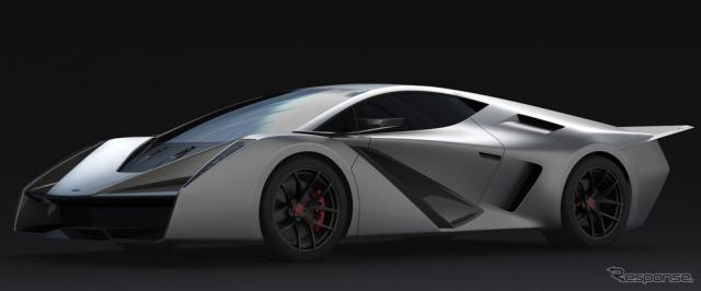 元マツダのデザイナー、究極のアナログスーパーカー目指す…ペブルビーチ2018