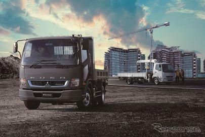 三菱ふそう、中型トラック『ファイター』に4気筒エンジン搭載モデルを追加