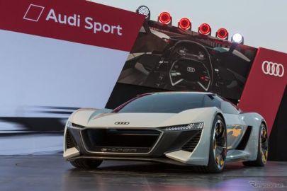 アウディのEVスポーツ、3モーターで775hp…0-100km/h加速は2秒未満