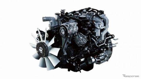 三菱ふそうの新型4気筒エンジンは、準中型トラック市場最大級のダウンサイジング