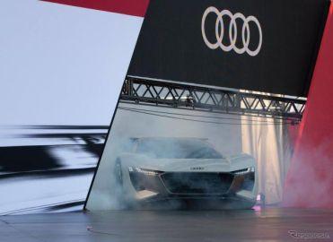 アウディの次世代EVスポーツ、ディスプレイに理想のコーナーラインを表示