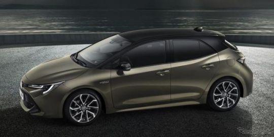 トヨタ オーリス、欧州で廃止へ…世界統一の カローラ に車名変更