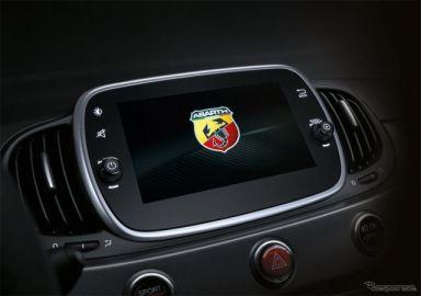 アバルト 595、車載インフォテインメントシステムを強化 Apple CarPlay/Android Auto対応