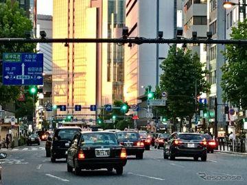 ソニーと都内タクシー5社、AI技術活用の配車サービスを2018年度中に開始へ