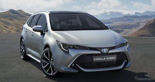 トヨタ カローラ にワゴン、ハイブリッドは2種類…パリモーターショー2018で発表へ