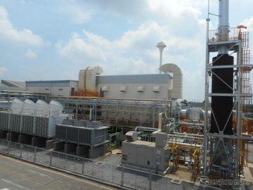 ホンダのタイの二輪車製造拠点にコジェネによるエネルギー供給を開始