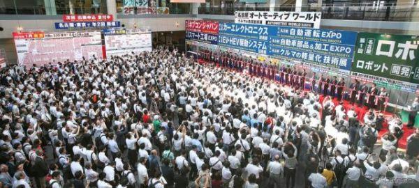 名古屋オートモーティブワールド、大盛況に出展社「ニーズ感じる」…3日間で3万人見込む