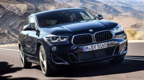 BMW X2 に最強の「M35i」…2.0ターボは306hpに強化