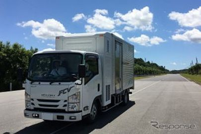 東京R&D、FC小型トラックの公道実証を10月より福岡で開始 国内初