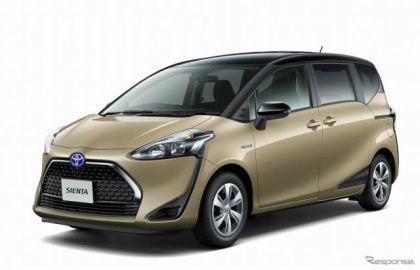 トヨタ シエンタ 改良新型、日本板硝子の防曇機能付ガラスが採用