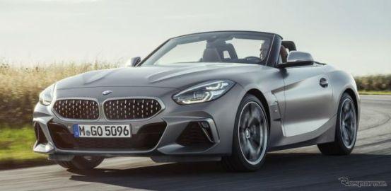 BMW Z4 新型、新開発2.0ターボを追加設定…パワーは197hpと258hp