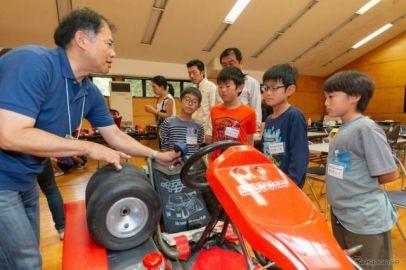 日本EVクラブ、親子電気レーシングカート教室を開催予定 EVS31