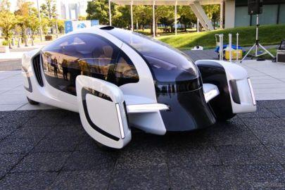 新素材の活用で樹脂化率47%、電動コンセプトカー ItoP 初公開…車両重量850kg